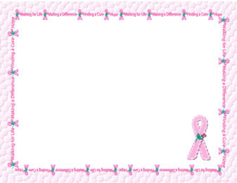 Free Breast Cancer Awareness Scrapbook Pages