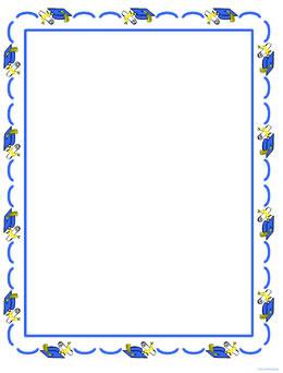 free scrapbooking pages  printable  digital pages preschool graduation border clip art preschool graduation border clip art