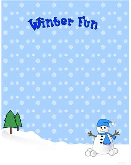 free winter page borders Quotes