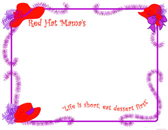 Red Hat Mama's Frame