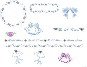 WeddingBridal Shower Clip Art