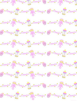 Awesome New Baby Girl Background 3