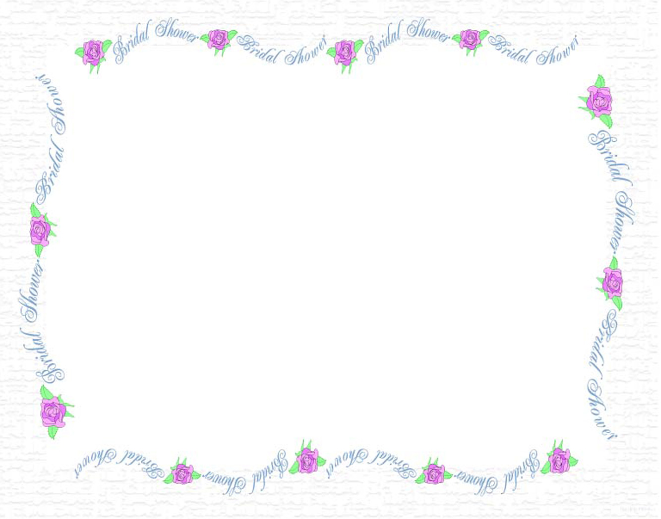 free wedding shower clip art borders - photo #4