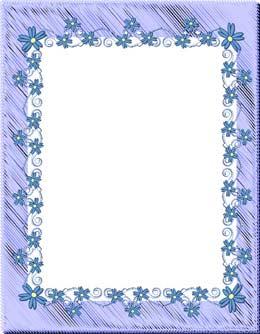 spring floral frames page 1