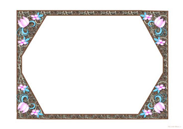Free printable, digital, scrapbook template pages,Mother's day flower ...