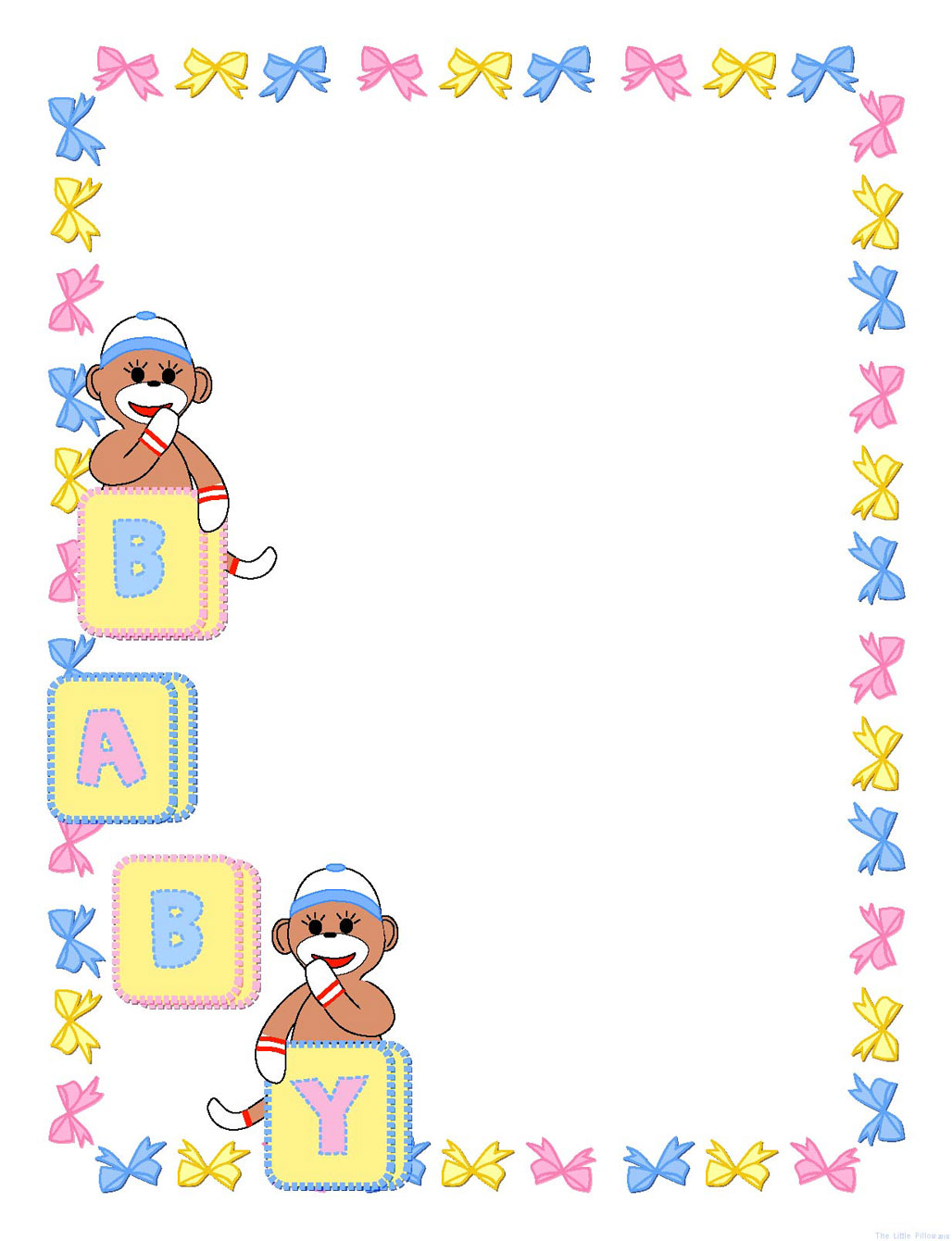free baby scrapbook clipart - photo #48