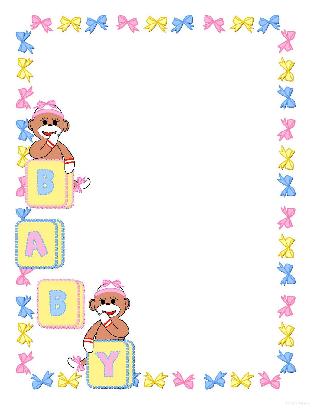 free clip art borders baby theme - photo #3
