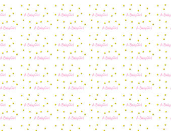Welcome Baby Girl Background 1