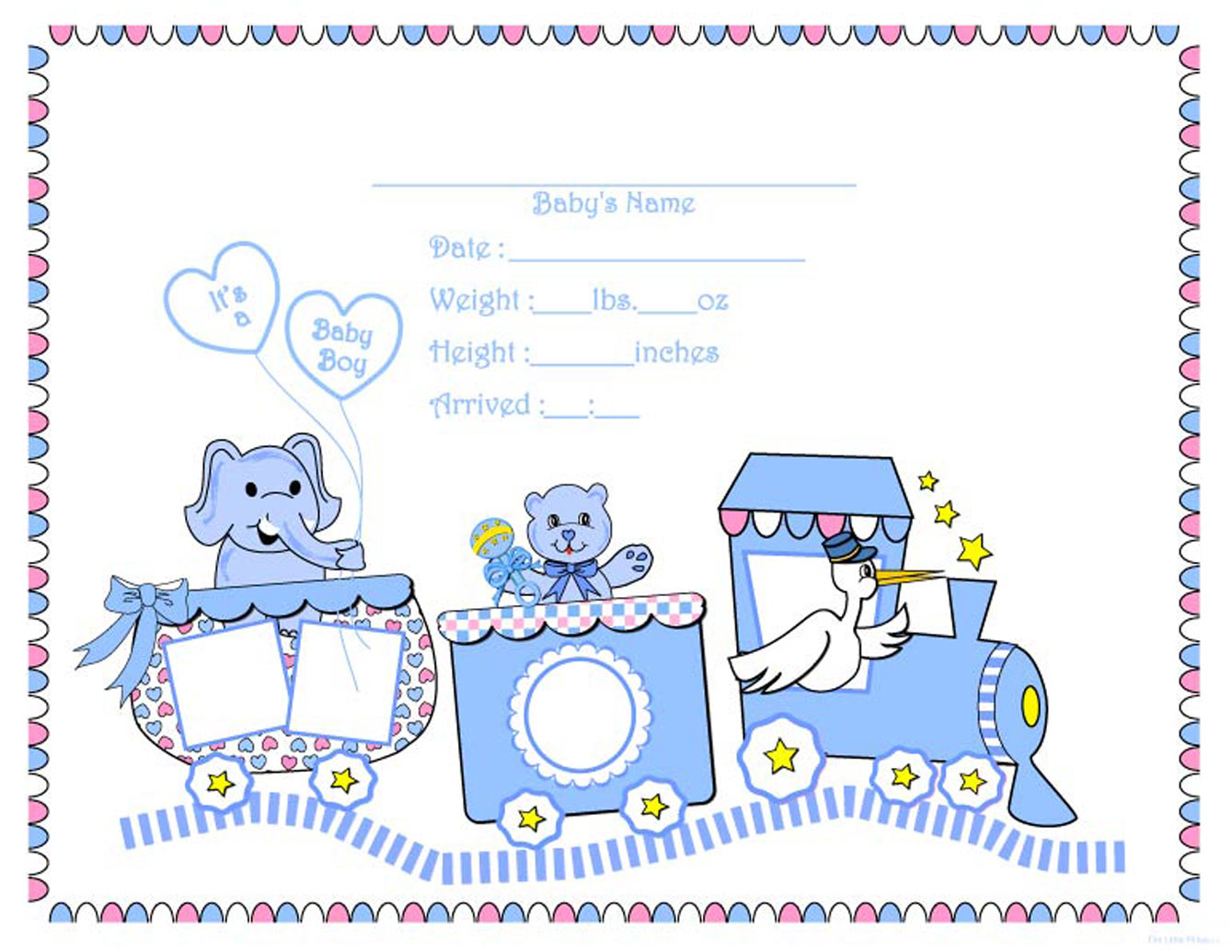 Download Jpeg Printable Baby Book Pages Part Ii From Moming About