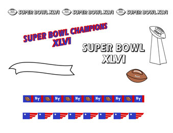 super bowl clip art