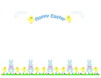 easter 1 - Easter Picture Frames
