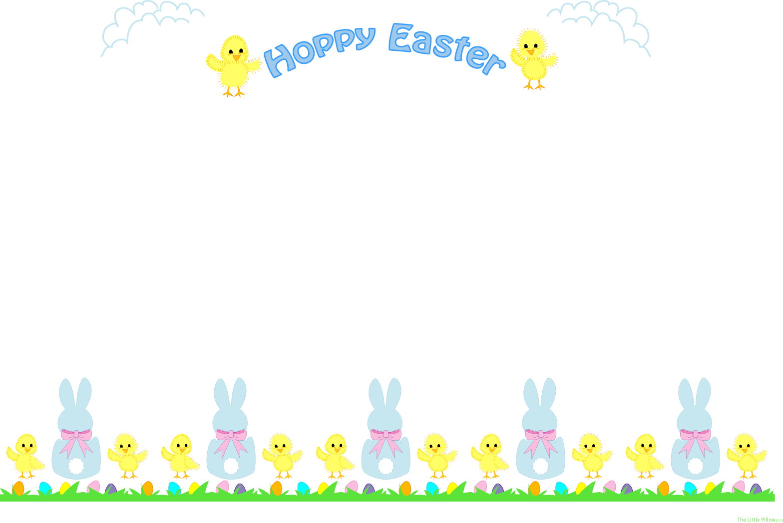 free clip art borders for easter - photo #1