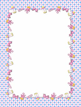 Baby Items Page Frame