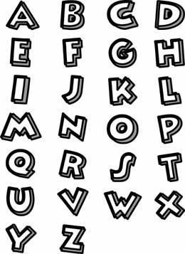 Free Scrapbook Pages Frames Sidebar Alphabet Font Valentine
