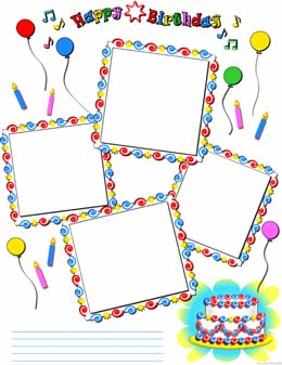 Free scrapbook pages, baseball, soccer, basketball, football, frames ...
