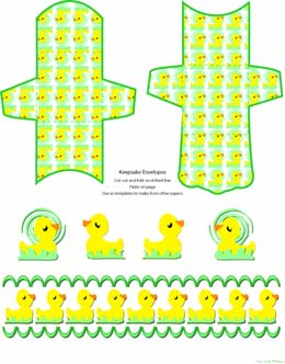Freebie scrapbook pages, baby, ducks, envelopes teen, frames, clip ...