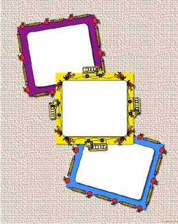 mini frames for back to school