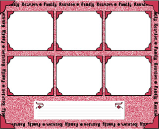 free scrapbook pages scrapbooking frames free font pages family